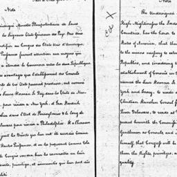 Document, 1785 March 26