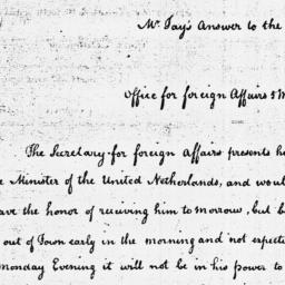 Document, 1785 March 5