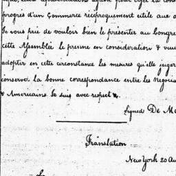 Document, 1785 August 20