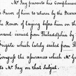 Document, 1785 August 15