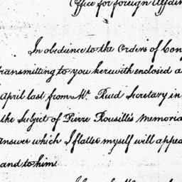 Document, 1785 July 19