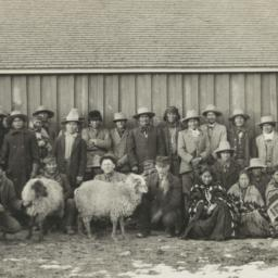 Group of American Indian Fa...