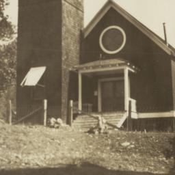 Church Building, Hoopa, Cal...