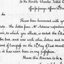 Document, 1785 December 30