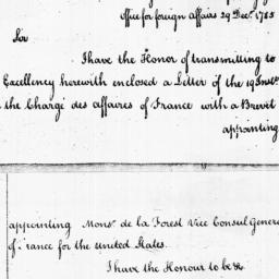 Document, 1785 December 29