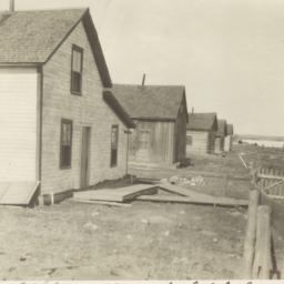 Ojibwa Houses near a Lake, ...