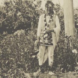 American Indian Man in Trad...