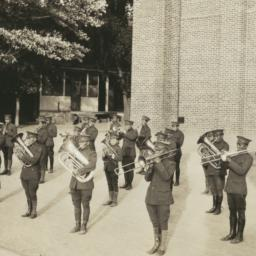 Brass Band in Uniform and F...