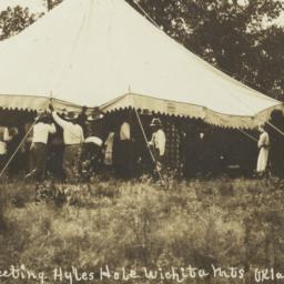 Indian Camp Meeting, Hyles ...