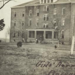 Girls' Dormitory, Bacone Co...
