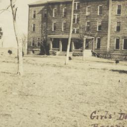 Girls' Dorm at Bacone Colle...