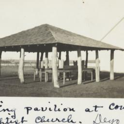 Eating Pavilion at Comanche...