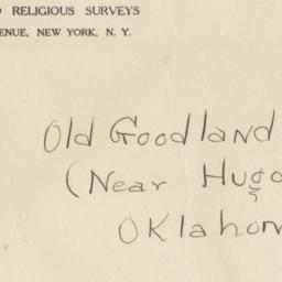 Envelope for Negatives (129...
