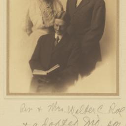 Family Portrait of Reverend...