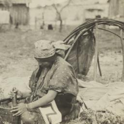 Wasco Indian Woman with Mor...