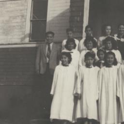 American Indian Choir at Ta...