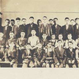 Students at Tomah Indian Sc...