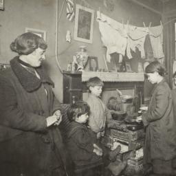Destitute Mother and Children