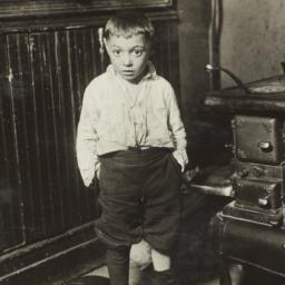 Little Boy near Stove