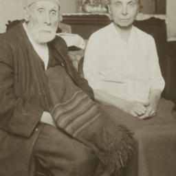Old Couple Seated