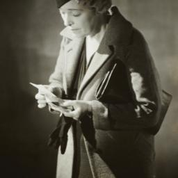 Woman Reading Note
