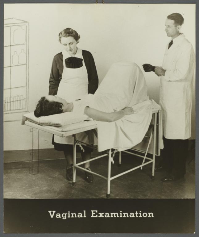Recto vaginal exam