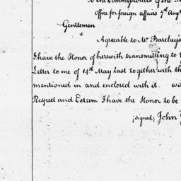 Document, 1786 August 07