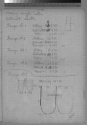 notes and sketches, 12pp.,p. 6