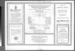 program for 9 January 1919,pp. 12-13