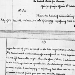 Document, 1787 October 05