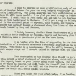 Letter : 1954 June 2