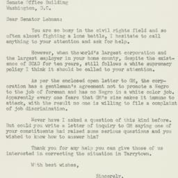 Letter: 1955 December 16