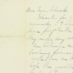 Letter : 1911 July 31