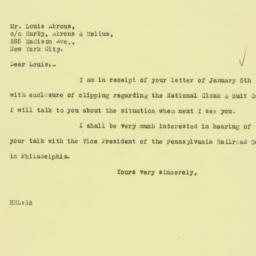 Letter: 1926 January 8
