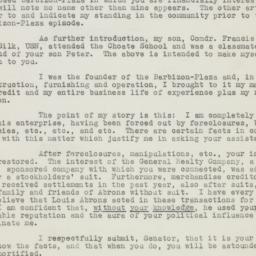 Letter: 1951 February 12