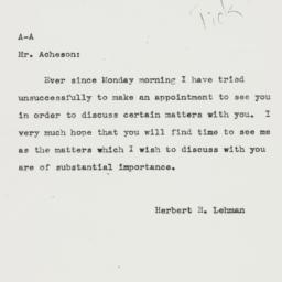 Letter: 1943 July 2