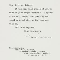 Letter : 1945 August 30