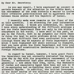 Letter: 1950 March 4