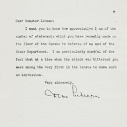 Letter: 1950 April 7