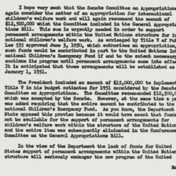 Letter: 1950 September 1