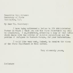 Letter: 1951 September 12