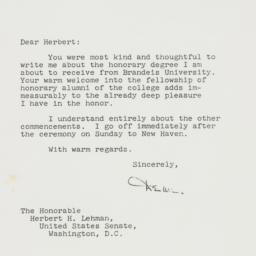 Letter: 1956 June 6