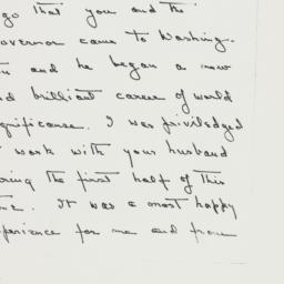 Letter: 1963 December 14