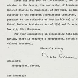 Letter: 1950 April 20