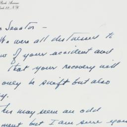 Letter: 1963 February 4