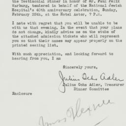 Letter : 1940 February 5