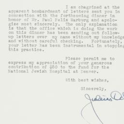 Letter: 1940 February 9
