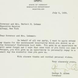 Letter: 1939 July 5