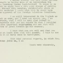 Letter: 1952 December 24