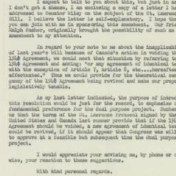 Letter: 1953 January 13